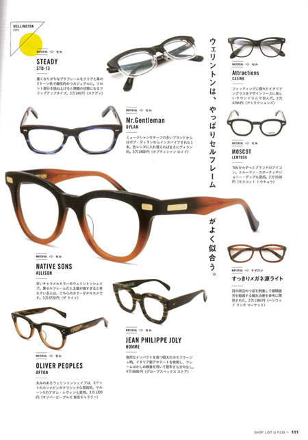 Lightning EYEWEAR BOOK_P111