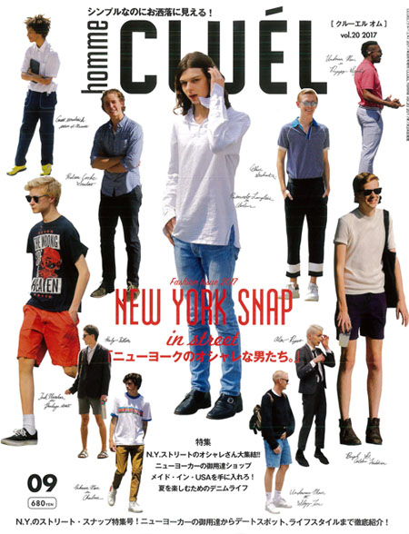 CLUEL homme issue7 cover